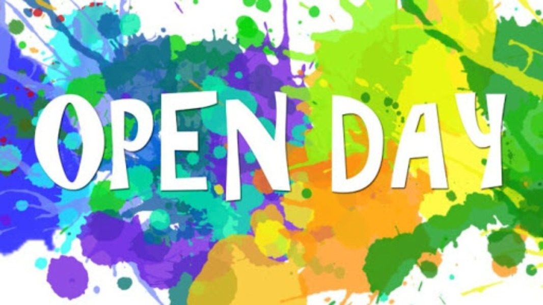 Open day 9/01/2021