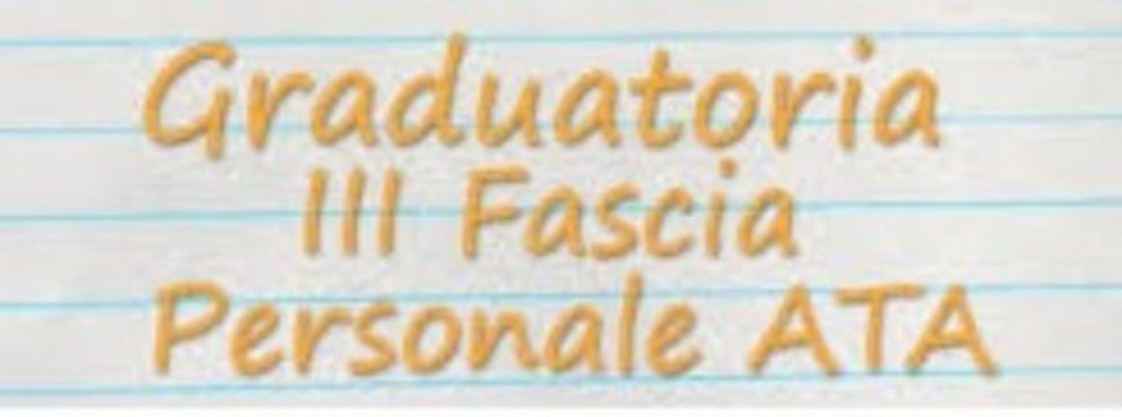 Pubblicazione graduatorie provvisorie personale...