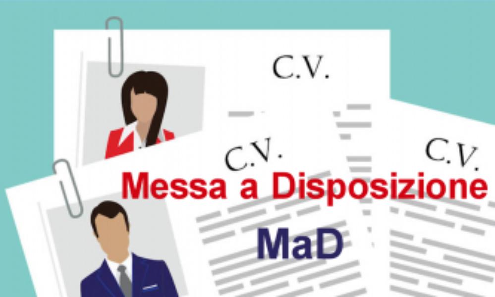 Domande di Messa a Disposizione (MAD) a.s. 2020...