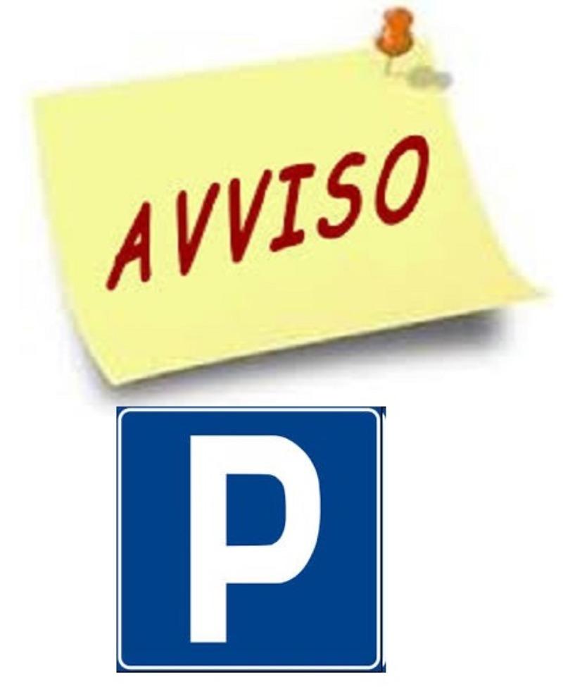 Avviso chiusura parcheggio 11/09/2019