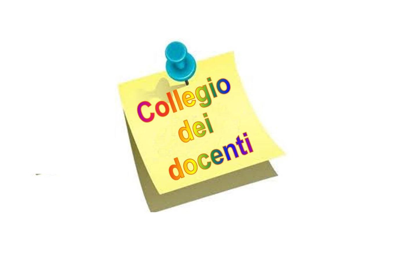 Convocazione collegio docenti del 10/04/2019